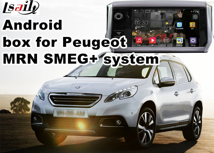 Peugeot SMEG+ MRN GPS Navigation Box WiFi Android Car Navigation