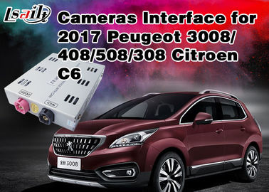 Peugeot Reverse Camera Interface Integrate Video Source TV / Rear System ,  RoHS SGS , Active Parking Guideline